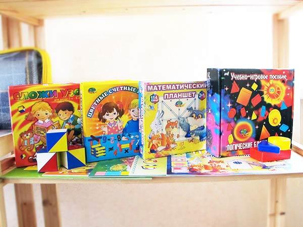 Дидактические игры для детских садов и развивающих центров