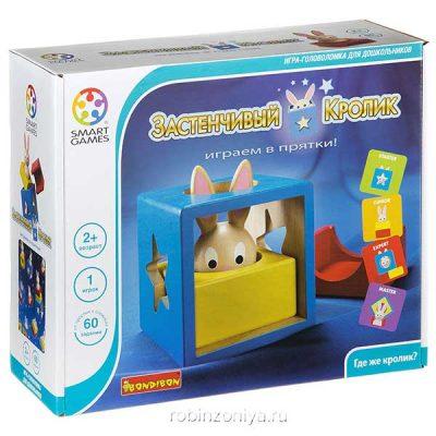 Игра логическая Застенчивый Кролик (Bondibon)