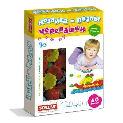 Мозаика Черепашки 40 мм 60 деталей от Стеллар купить в интернет-магазине robinzoniya.ru.