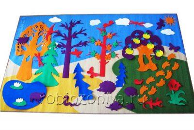 Фиолетовый лес Воскобовича, развивающая среда