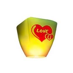 Небесный фонарик бриллиант Love