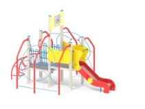 Детский игровой комплекс 9.23 Паучок Н=900