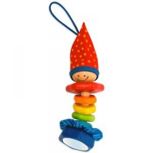 Игрушка Клоун деревянная 22033