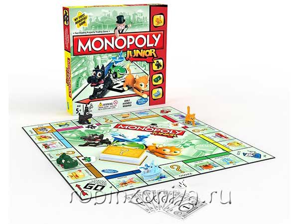 Игру «Моя первая монополия» купить с доставкой по России в интернет-магазине robinzoniya.ru.