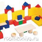 Деревянный конструктор Строим сами,Краснокамская игрушка