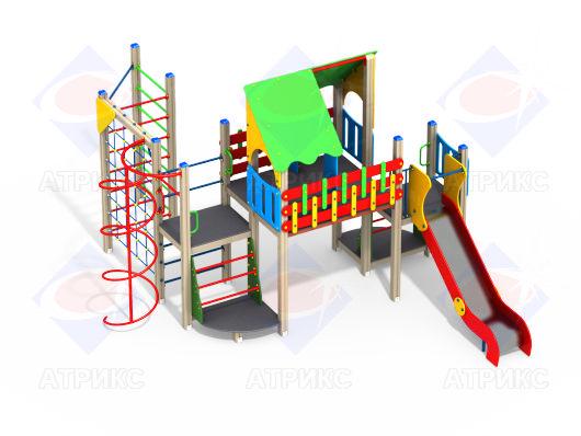 Детский игровой комплекс 9.12 купить в Воронеже в интернет-магазине robinzoniya.ru.