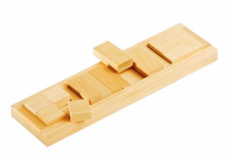 Развивающая игрушка Пазлы Дроби-квадрат из дерева купить в интернет-магазине robinzoniya.ru.