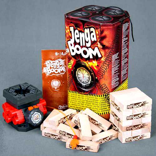 Настольная игра Дженга Бум Hasbro купить в интернет-магазине robinzoniya.ru.