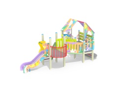 Детский игровой комплекс 9.101 Пасека графити Н-700,900
