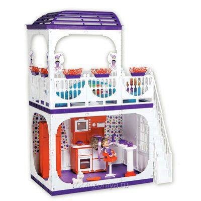 Кукольный дом Конфетти Огонек