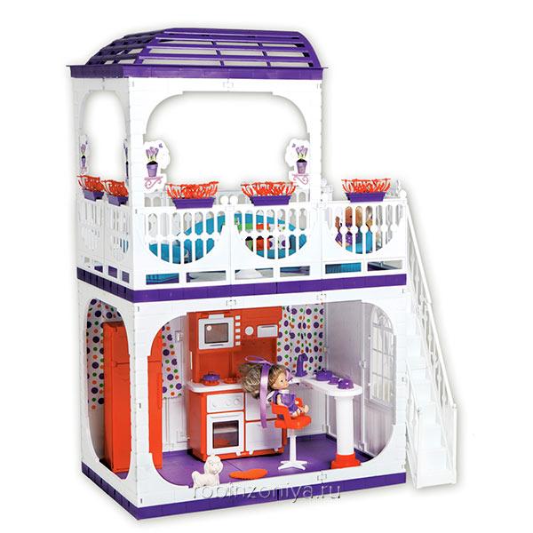 Кукольный дом Конфетти Огонек купить в интернет-магазине Робинзония.