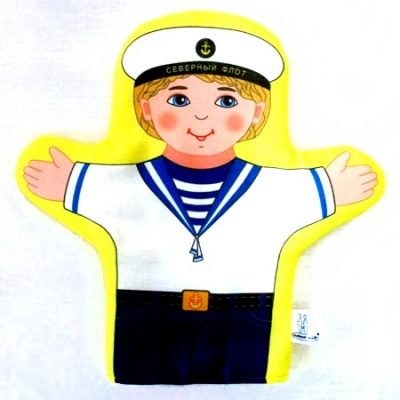 Кукла рукавичка Моряк