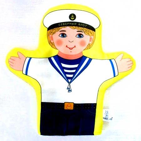 Кукла рукавичка Моряк купить с доставкой по России в интернет-магазине robinzoniya.ru.