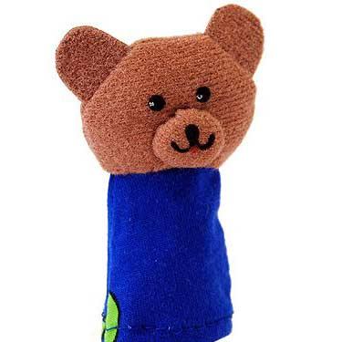 Кукла пальчиковая Медведь