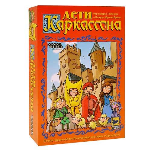 Настольная игра Дети Каркассона купить в интернет-магазине robinzoniya.ru.