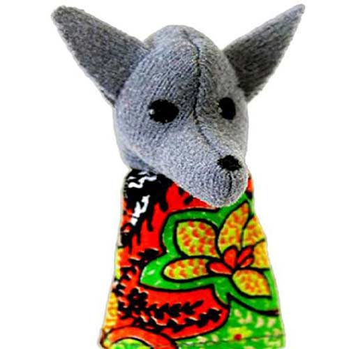 Кукла пальчиковая Волк купить в интернет магазине Робинзония с доставкой по России.