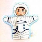 Кукла рукавичка Космонавт