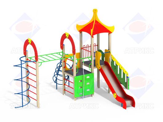Детский игровой комплекс 1.251 купить в интернет-магазине robinzoniya.ru.