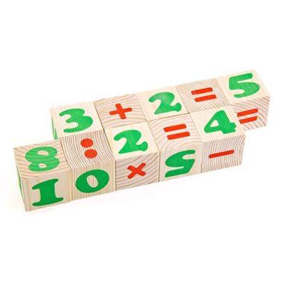 Кубики Цифры 12 эл. Томик