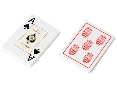 Карты для покера Fournier Club Monaco, 100% пластик, увеличенный индекс