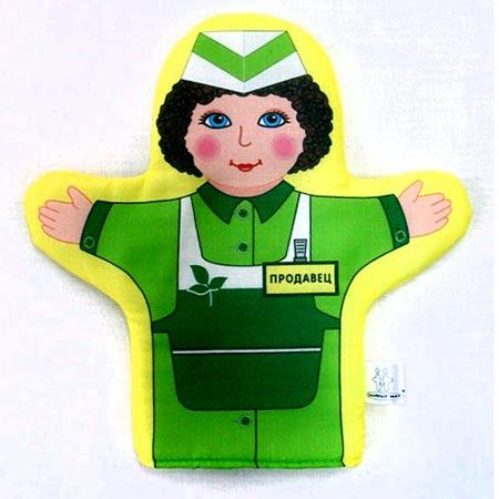 Кукла рукавичка Продавец купить с доставкой по России в интернет-магазине robinzoniya.ru.