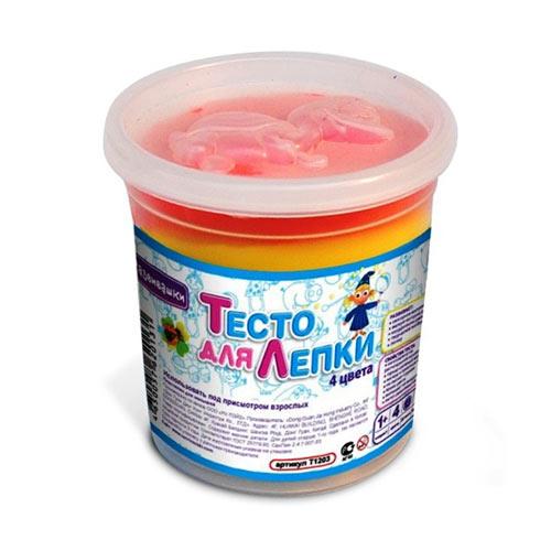 Тесто для лепки 7 цветов+ формочка купить в интернет-магазине robinzoniya.ru