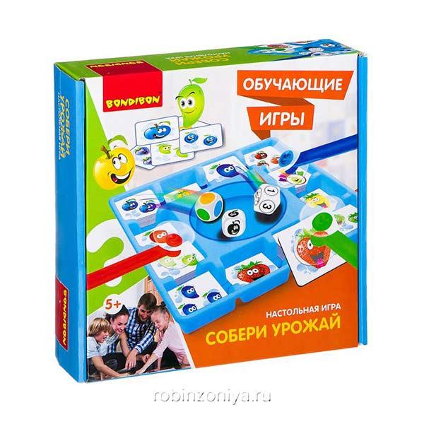 Игра Собери урожай Bondibon купить в интернет-магазине robinzoniya.ru.