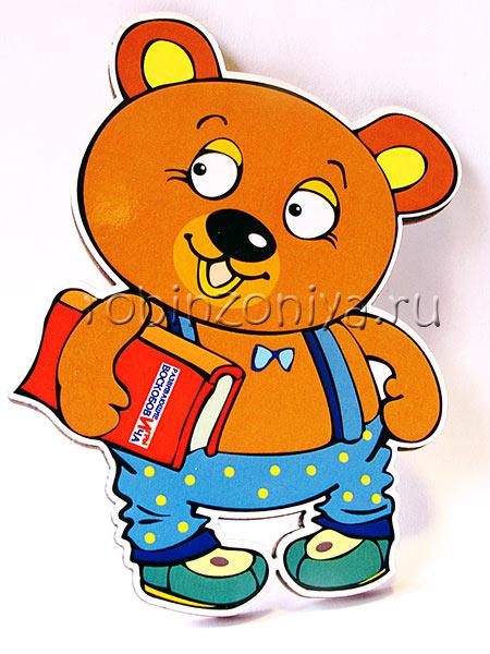 Герои Воскобовича персонаж Медвежонок Мишик купить в интернет-магазине robinzoniya.ru.