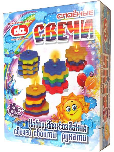 Слоеные свечи Тучки-солнышки купить можно тут с доставкой по всей России.