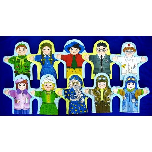 Куклы рукавички Незнайка и его друзья купить с доставкой по России в интернет-магазине robinzoniya.ru.