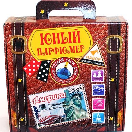 Набор для создания духов Юный парфюмер Америка купить в интернет-магазине robinzoniya.ru.