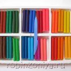 Пластилин мягкий Фантазия, 24 цвета, Луч