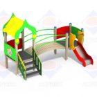 Детский игровой комплекс 2.094 H=700
