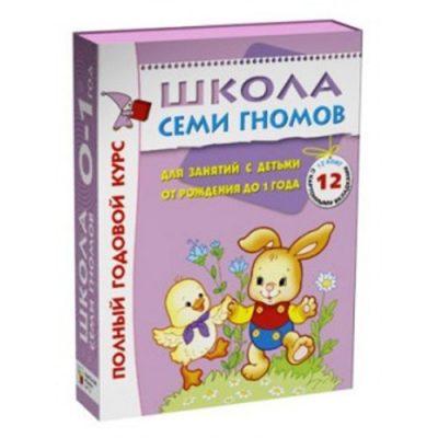 Школа семи гномов Полный годовой курс 0-1 год (12 книг)