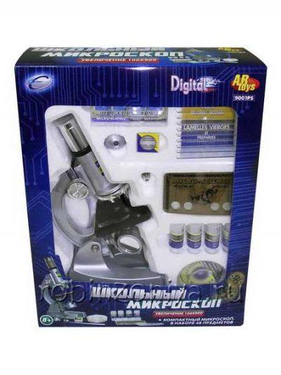 Микроскоп 100х900, 48 предметов в наборе