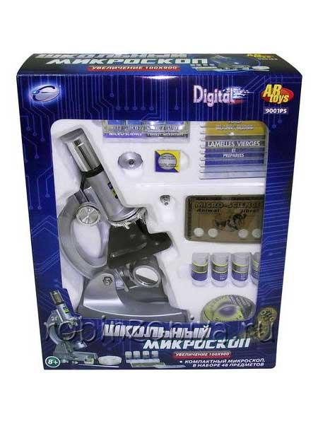 Детский микроскоп с увеличением 100х900 купить с доставкой по России в интернет-магазине robinzoniya.ru.