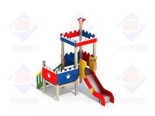 Детский игровой комплекс 2.135 купить в Воронеже в интернет-магазине robinzoniya.ru.