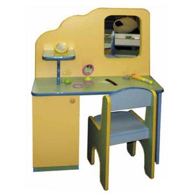 Уголок парикмахера для детского сада со стулом купить в интернет-магазине robinzoniya.ru.