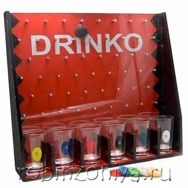 Алкоигра для вечеринок Дринко (Drinko) купить в интернет-магазине robinzoniya.ru.