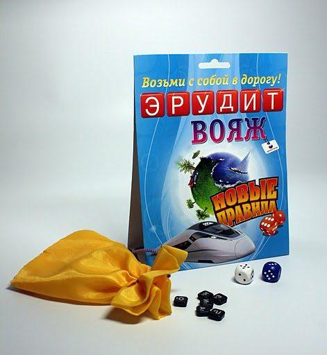 Настольная игра Эрудит Вояж купить в интернет-магазине robinzoniya.ru.