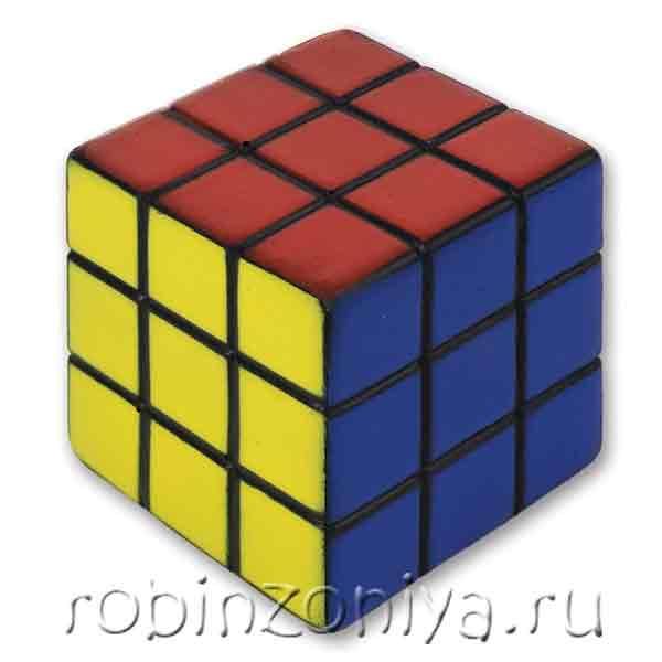 Недорогой Кубик Рубика 3х3 купить с доставкой по России в интернет-магазине robinzoniya.ru.