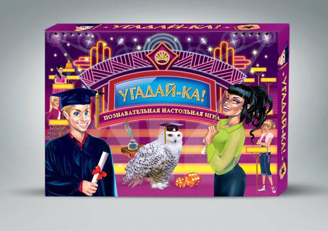 Настольная игра для детей Угадай-ка купить в интернет-магазине robinzoniya.ru.