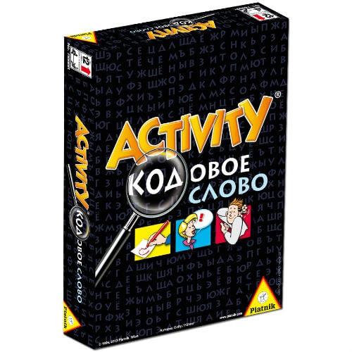 Настольная игра Активити Кодовое слово купить в интернет-магазине robinzoniya.ru.