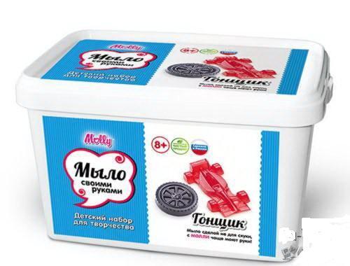 Набор для создания мыла своими руками Гонщик купить в интернет-магазине robinzoniya.ru.