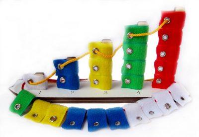 Воскобович Кораблик Плюх плюх с дополнительными флажками