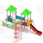 Детский игровой комплекс 2.40 Колобок