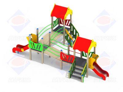 Детский игровой комплекс 3.17 H=900, H=700
