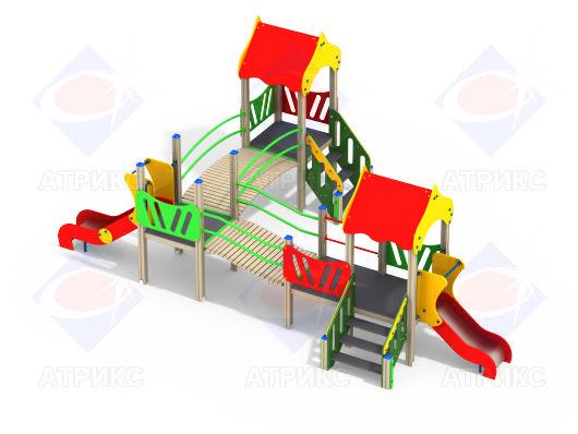 Детский игровой комплекс 3.17 купить в интернет-магазине robinzoniya.ru.