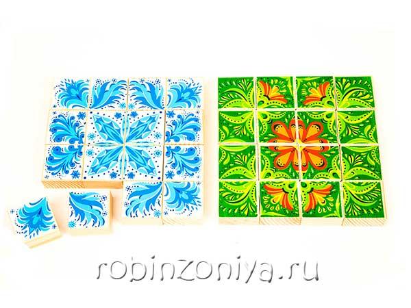 Деревянный пазл Зима-лето от Томик купить с доставкой по России в интернет-магазине robinzoniya.ru.