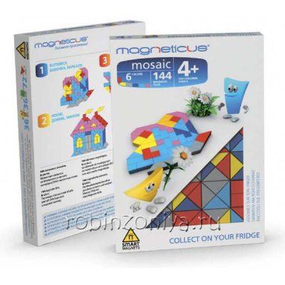 Magneticus Мозаика Бабочка 144 элементов